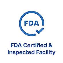 FDA Certified Facility