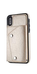 iPhoneX 手帳型 ケース 高級PUレザー 革ケース アイフォンX カバー 手帳型 カードポケット スタンド機能 衝撃防止 全面保護 …