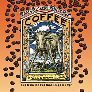 Raven's Brew Coffee Three Peckered Billy Goat - Roasted Coffee - Espresso, Cold Brew, Drip Coffee