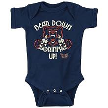 Bear Down Drink Up Chicago sports fans onesie