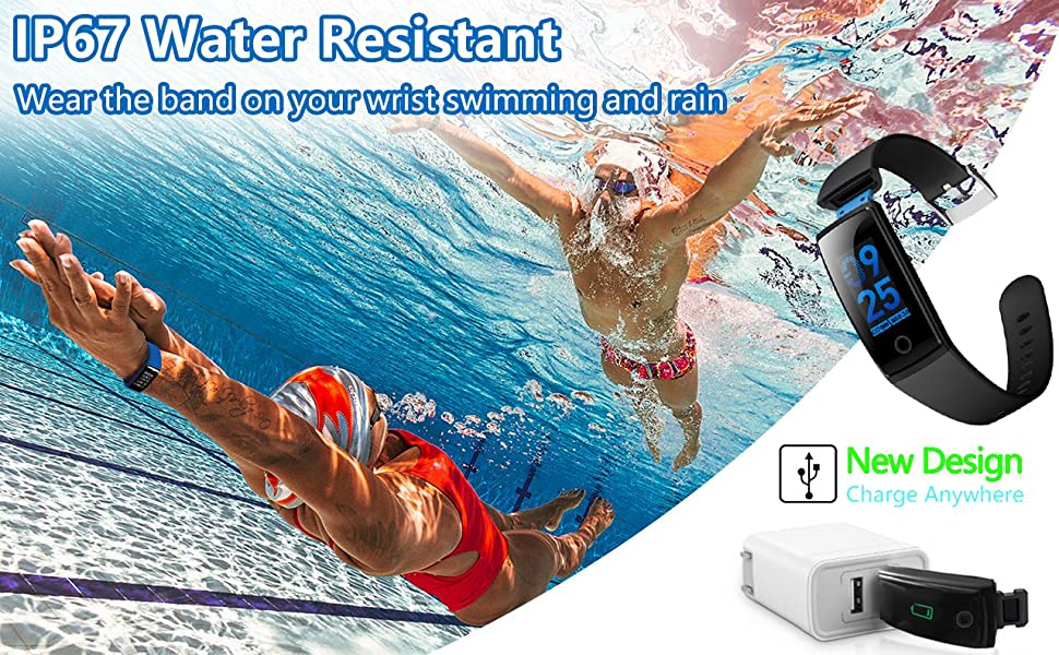 With IP67 water resistance