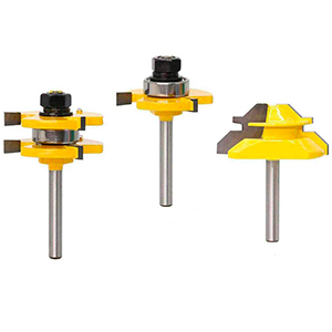 Tongue and Groove Router Bit Tool Set
