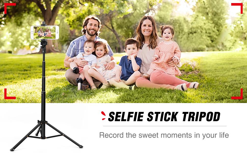 Trípode palo selfie