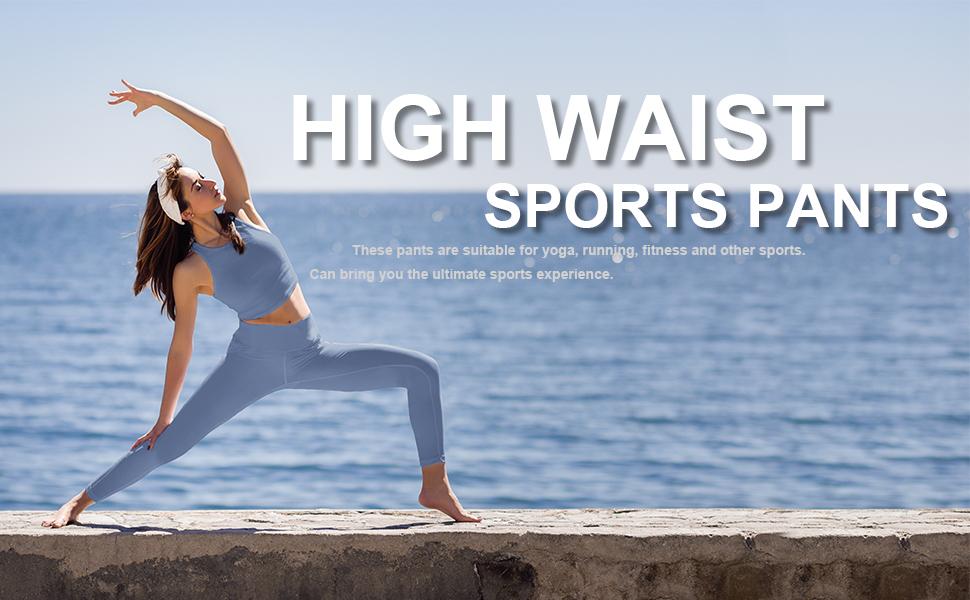 high waist sports leggings