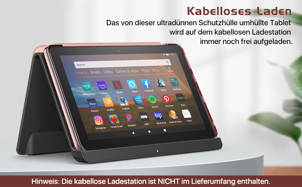 Moko Case Compatible With All New Fire Hd 8 Tablet And Elektronik