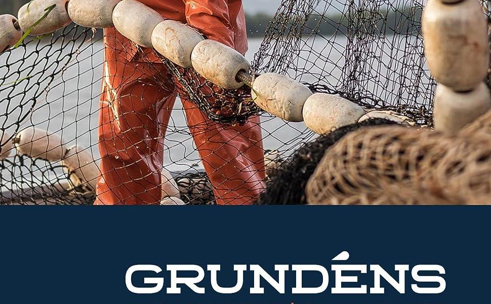 Grundens Shoremen Commercial Fishing Apron Orange NEW