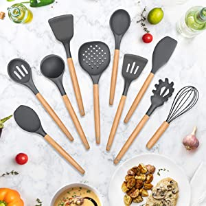kitchen cooking utensil set