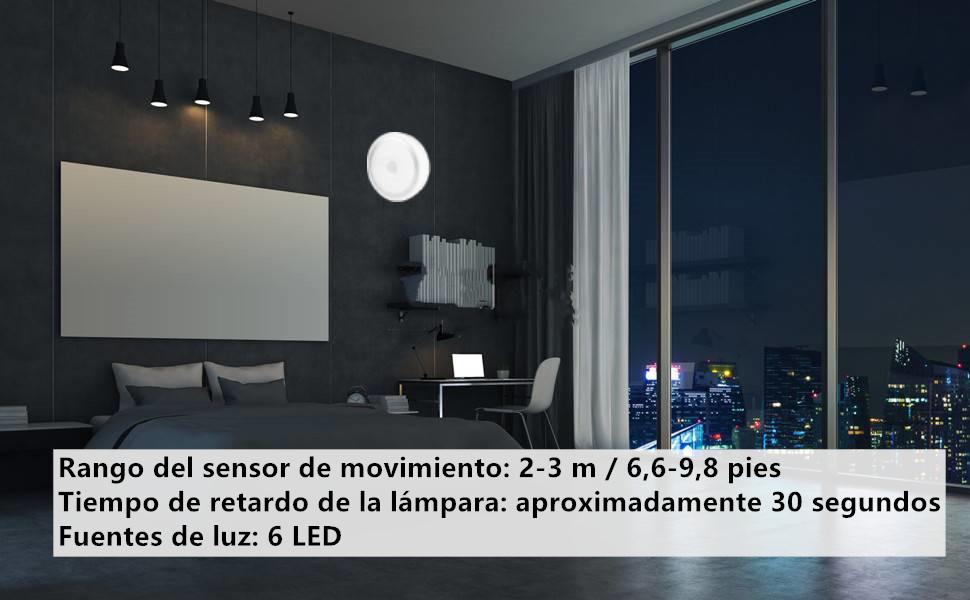 LED-lampen met bewegingsmelder.