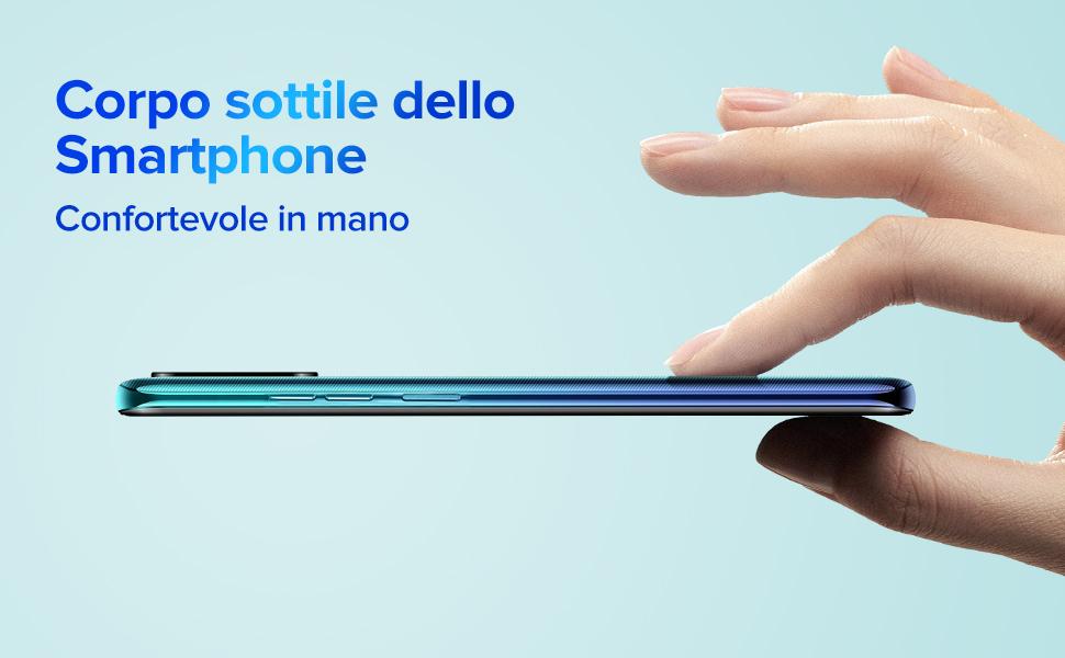 Corpo sottile dello smartphone