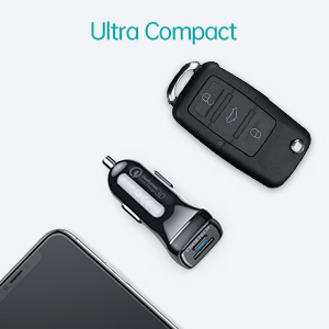 Quick Charge 3.0 Type C Car Adapter
