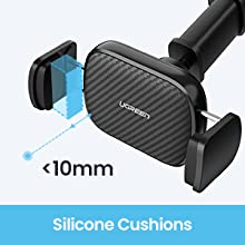 UGREEN Car Phone Mount Dashboard Car Holder Windshield Smartphone Cradle Strong Suction