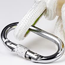 Heavy duty carabiners