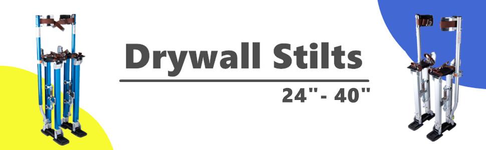 Drywall Stilts 24-40 Inch