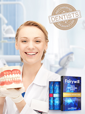 dental whitening strips