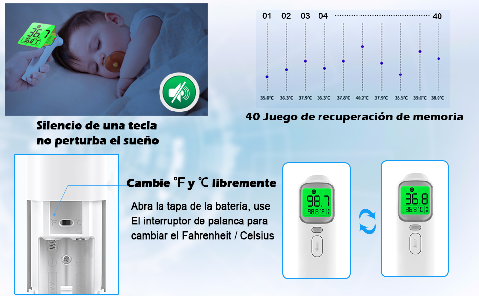 termometro oído