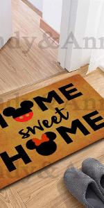 Cute Welecome Doormat Home Sweet Home