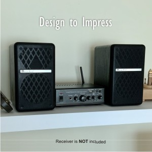 Wooden Speakers for Hi Fi System and Home Theater