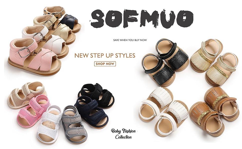 Fashionwu Baby Girls Tassel Soft Sole Non-slip Flats Baby Sandals Leather Infant Girls Summer Sandals for Toddler