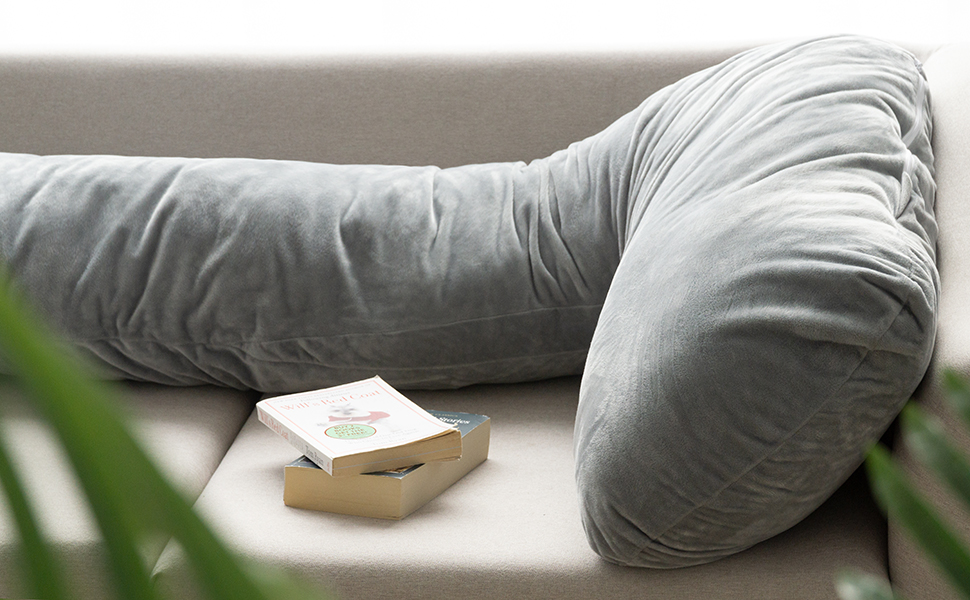 AngQi L Shaped pregnancy body pillow