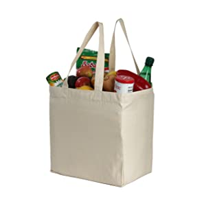 book bag sack cotton organic