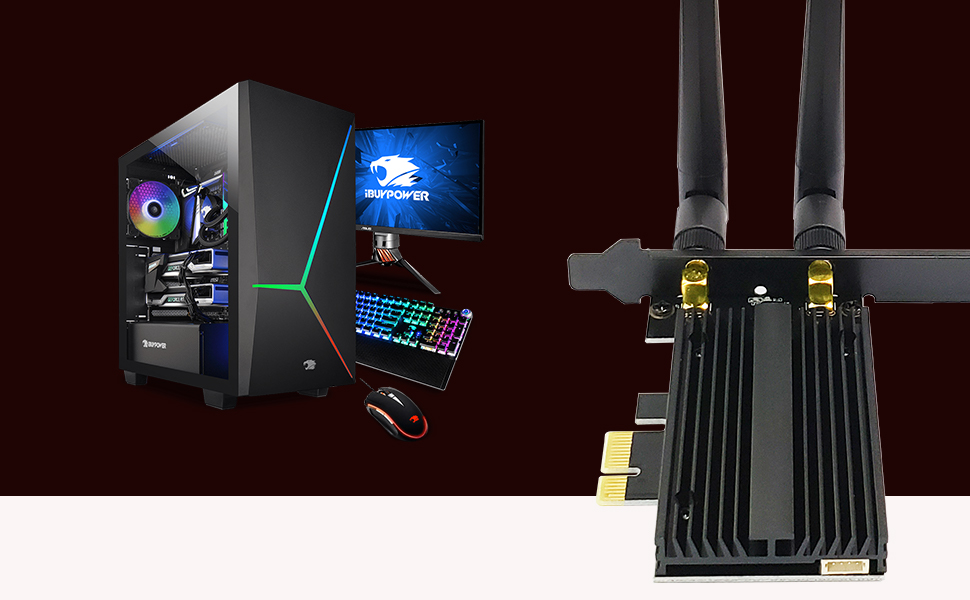 OKN Wi-Fi 6E PCIe Adapter