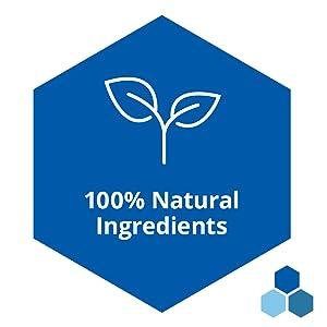 100% percent natural ingredients