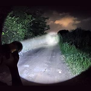 Heavy Duty Bright led  Spotlight Flashlight Searchlight handheld   Rechargeable