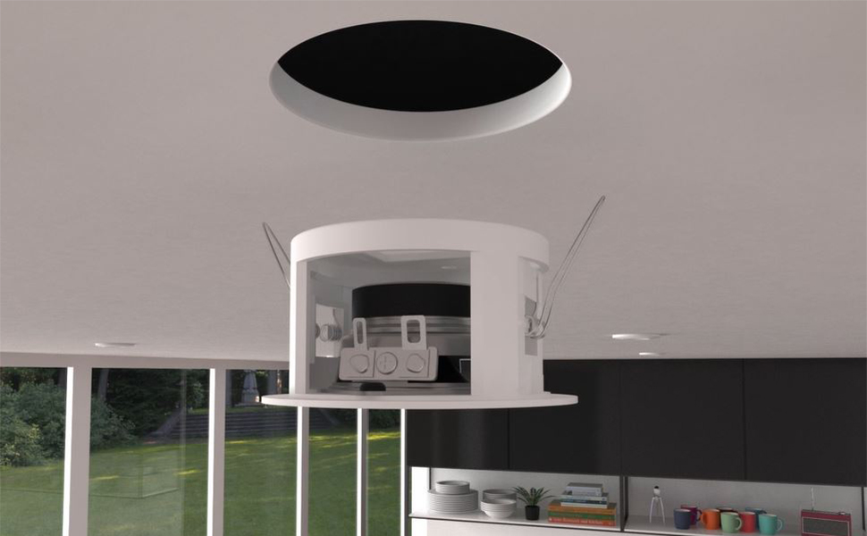 Enceinte Encastrable Plafond Bluetooth Kit Complet I Star Haut Parleur Plafond Encastrable Amazon Fr High Tech