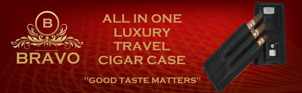 three finger cigar case