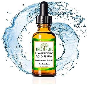 hyaluronic acid serum for skin anti aging wrinkle moisturizer cream for face