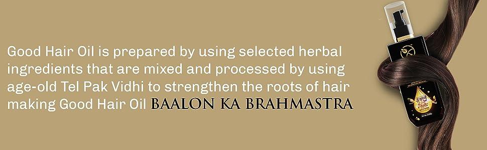 Good Hair Oil strong root oil herbal oil