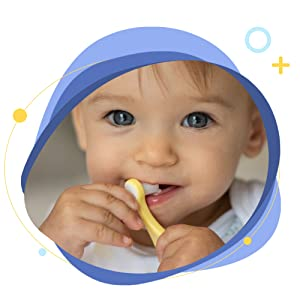 baby toothbrush - Papablic Baby Toothbrush, Training Toothbrush For Age 0-2 Years | Infant Toothbrush With 10000 Ultra Soft Bristle, BPA Free, 4 Pack