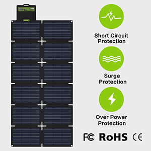 Safe Solar Panel