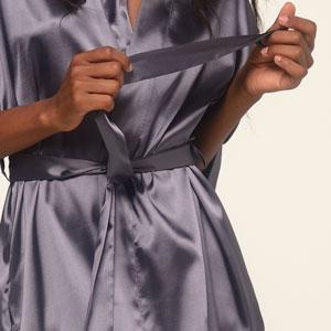 self tie belt