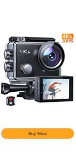APEMAN 4k action camera Wi-Fi waterproof camera underwater camera remote control sport camera