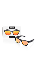 classic inventiv bluetooth sunglasses glasses red lenses