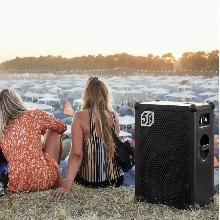 music festival speaker