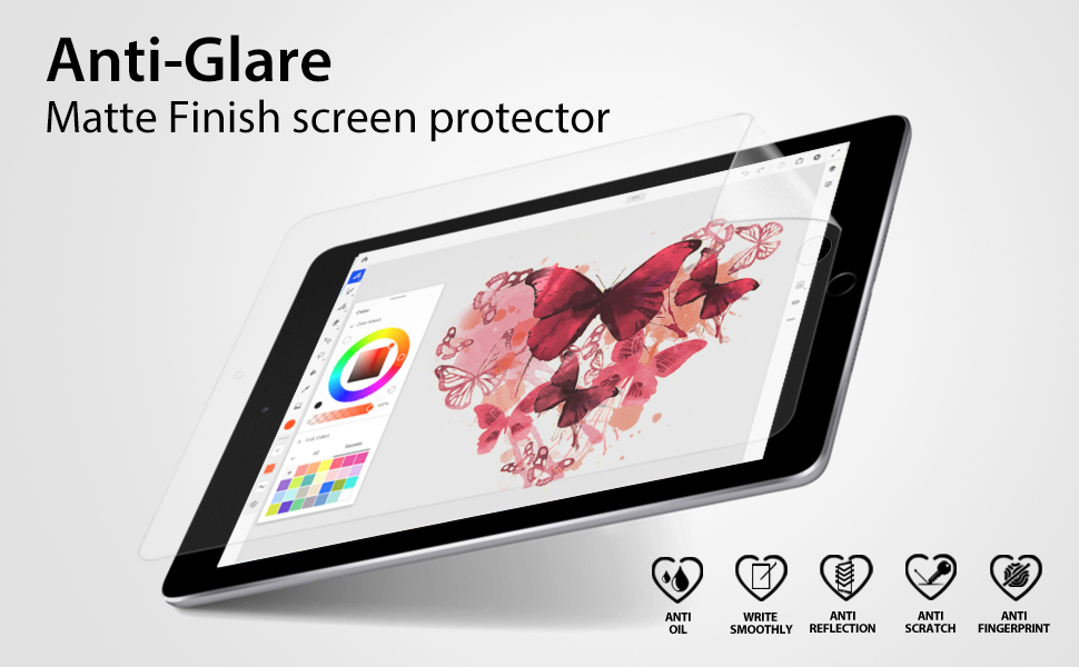 iCarez Anti glare screen protector