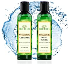 Vitamin C Cleanser and Facial Toner for Skin Combo Pack 04