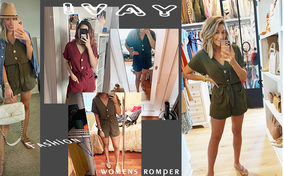 romper jumpsuit for women