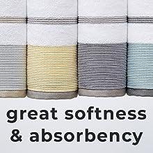 great softness absorbency
