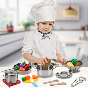 pretend play kitchen playset