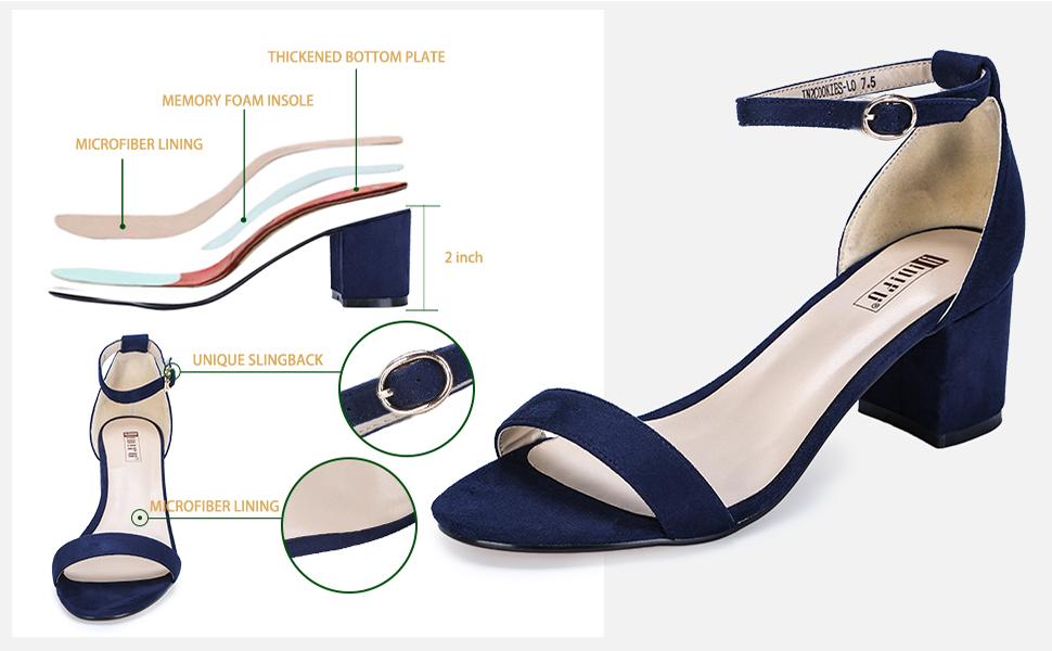women ankle strap sandals IDIFU