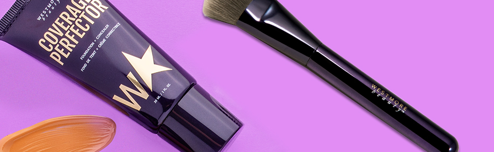 face coverage perfector and brush 2 piece kit