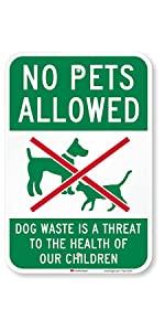 """No Pets Allowed"""