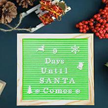 letter board - countdown