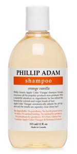 orange vanilla shampoo