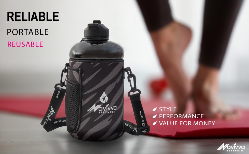 Sports water Bottle in the neoprene cover