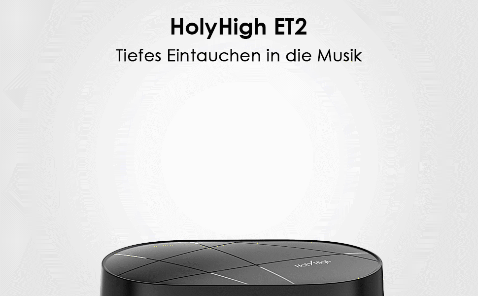 HolyHigh Wireless Earbuds ET2 Details - 1