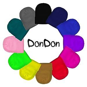 DonDon sale amazon linee maglia inverno berretto invernale cappello beanie slouchy streetwear